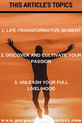 Passion - Purpose Driven Mastery