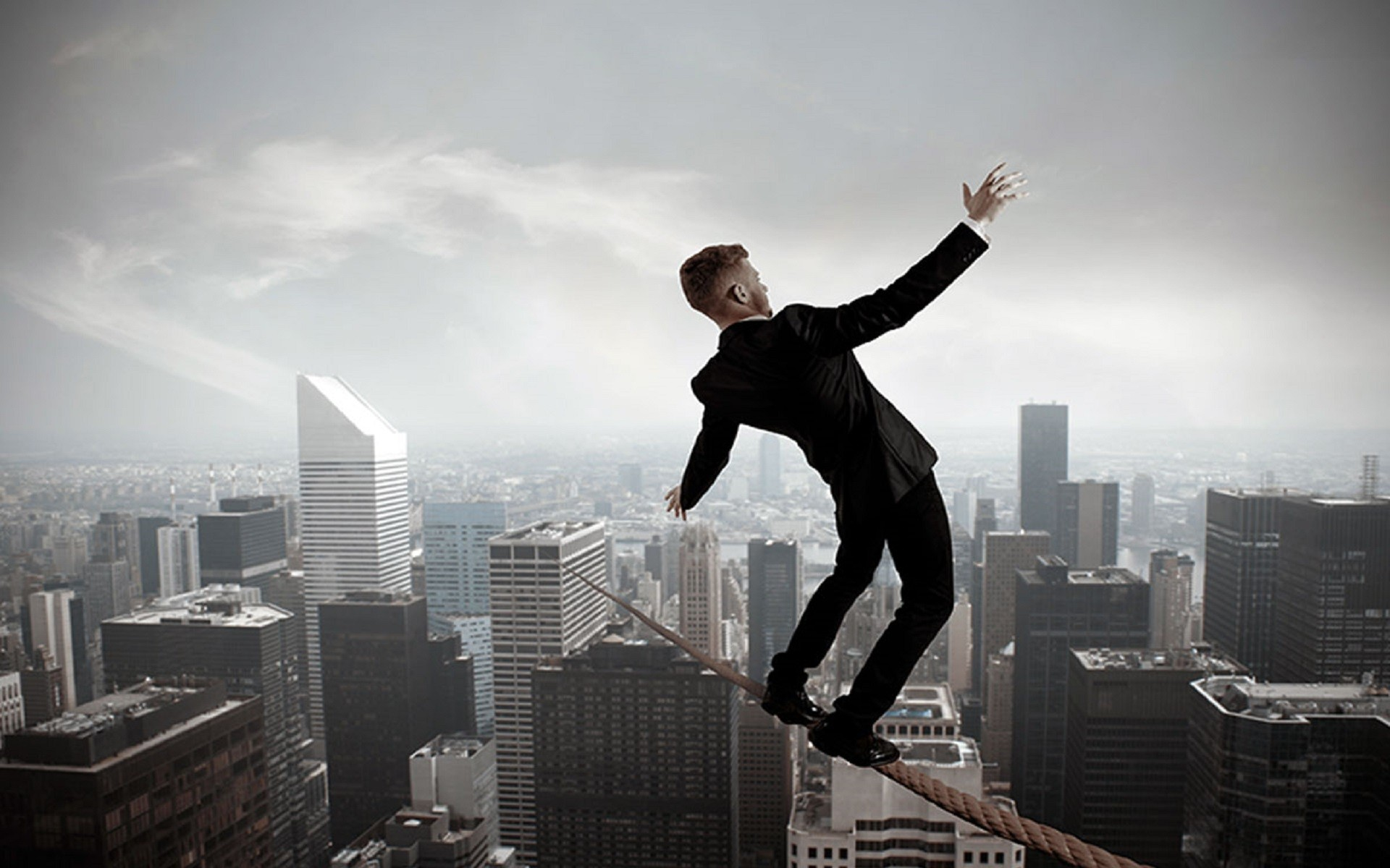 Mindset story: The tightrope story about walking the walk