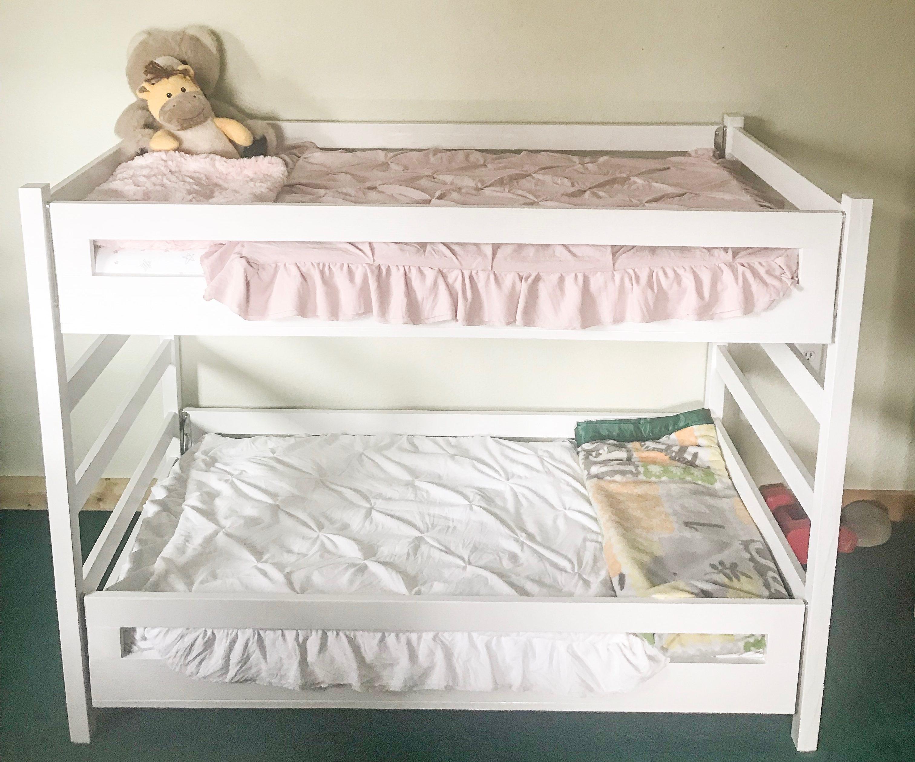 Diy Crib Size Bunkbed Purposeful Poise