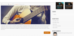 Blog page of 907 theme