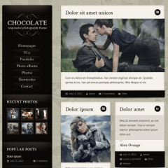 Chocolate-WP-Theme