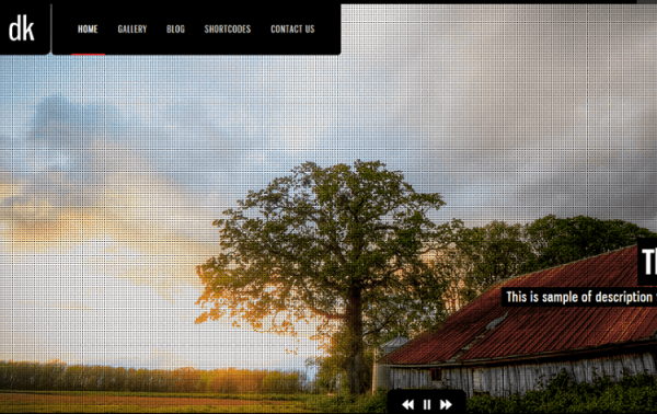 DK- Fullwidth Slider with title to each slide and different transition effects
