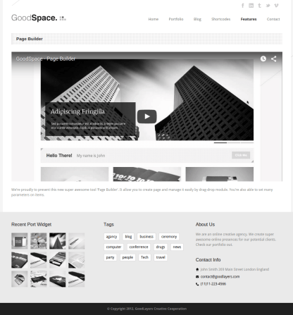 Good-space-Wp-Theme