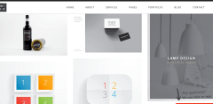 Masonry portfolio of London Creative+ theme