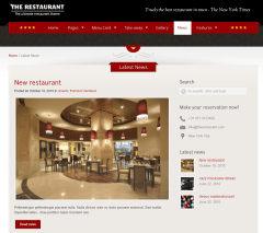 The Restaurant – latest news.
