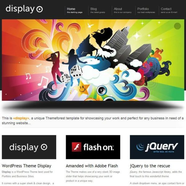 display-3-in-1-wordpress-theme