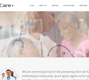 Care_Medical and Health Blogging WordPress Theme