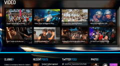 Clubber- Video page made by this theme