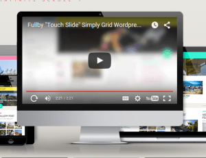 Fullby - A free responsive grid wordpress theme