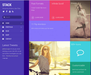 Stack - A fluid & responsive WordPress theme