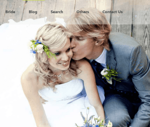 Wedding-elegant, responsive WordPress theme