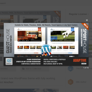 Guesthouse- Hotel & Sport Center 2in1 WordPress Theme