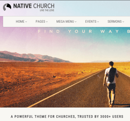 native church Multi Purpose Wordpress Theme
