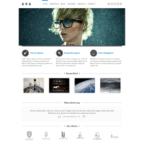 AXA - Responsive WordPress Theme