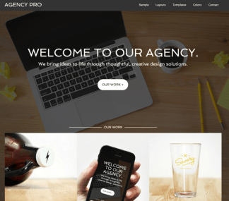 Agency Pro - Responsive Business WordPress theme