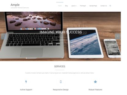 Ample Home Page