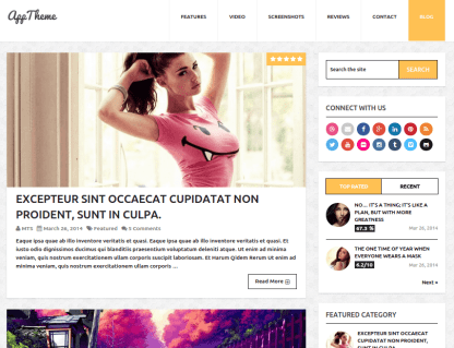 Apptheme-Wordpress-Blog-theme
