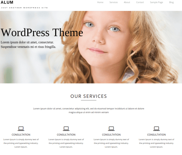 Aron is the best free responsive wordpress theme for Multi-Purpose