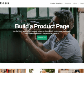 Basis theme -One of the best Business WordPress theme