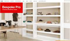 Bespoke Pro- Front page featured with stylish slider