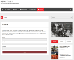 Contact-Form-Newstime-WordPress-theme