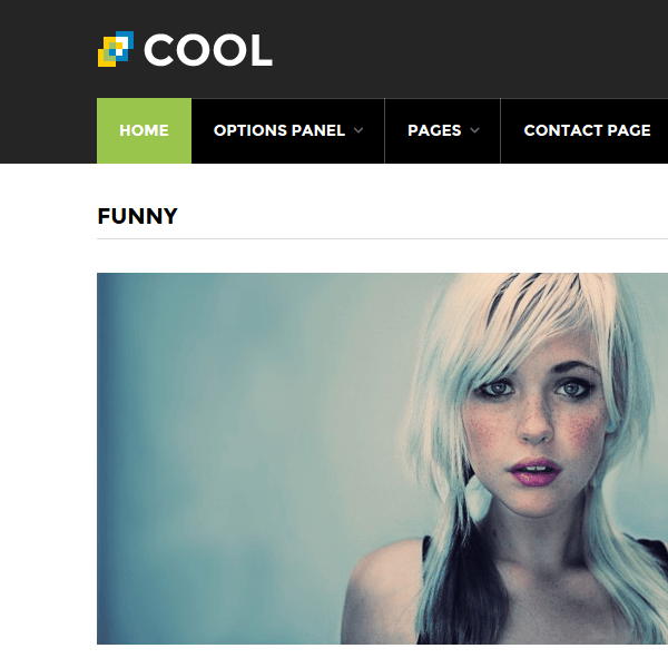Cool – WordPress Theme