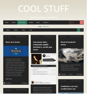 CoolStuff - MagazineBlog WordPress theme