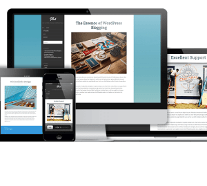 Flat - Free Responsive Blog WordPress theme
