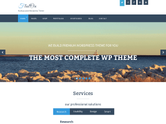Flat-On-WordPress-Theme