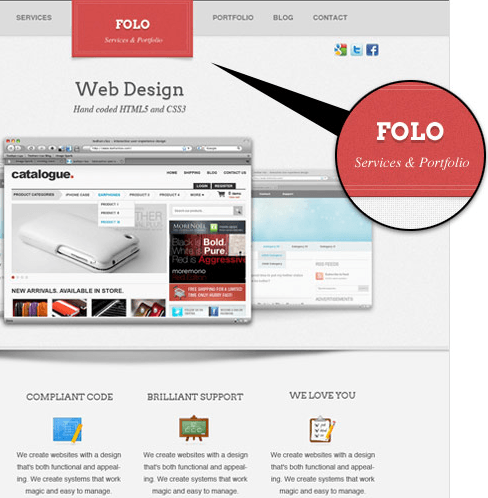 Folo is Business + Portfolio theme