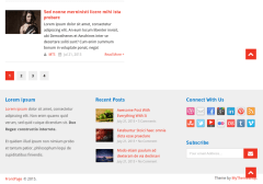 Footer-Frontpage-WordPress-theme
