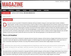 Full-Width Article