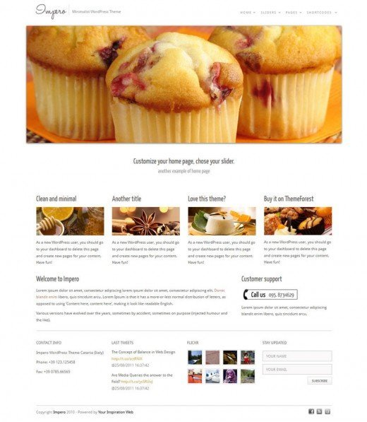 Impero-WordPress-theme