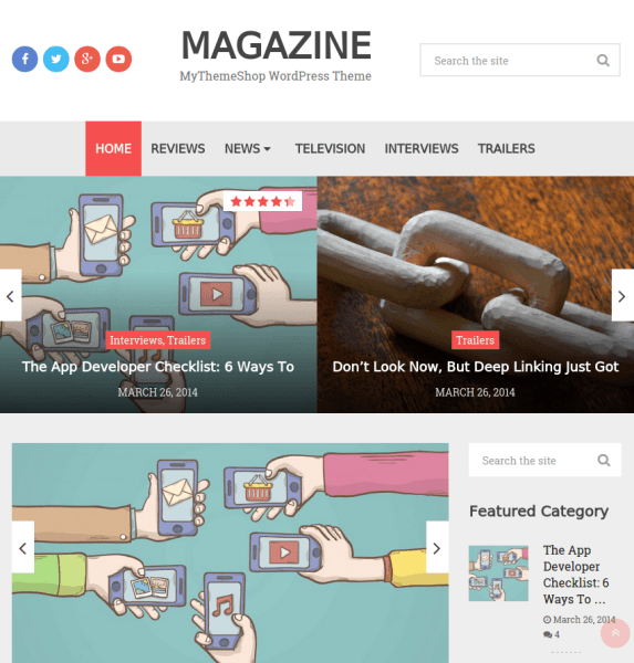 Magazine – WordPress Theme