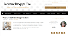 Modern Blogger Pro theme change color to Golden black