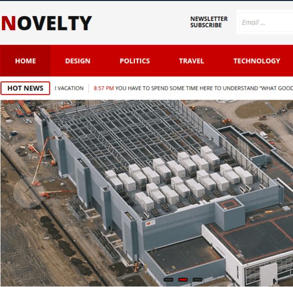 Novelty – Magazine WordPress Theme