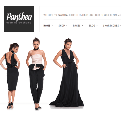 Panthea- Minimal ecommerce theme
