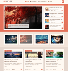 Repose Home Pages