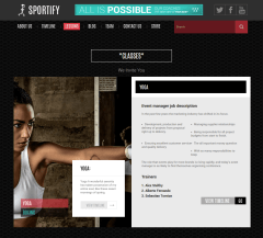 Sportify-WordPress-theme-Lesson