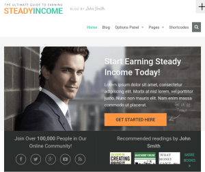 SteadyIncome - WordPress Theme