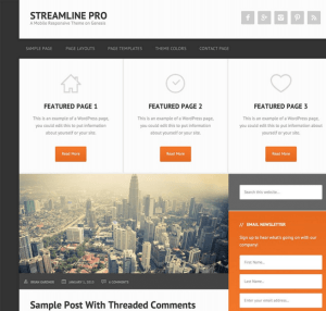Streamline Pro - Multipurpose WordPress theme