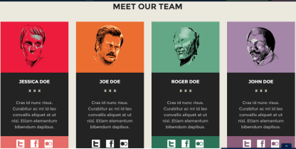 Team's page of CoolStuff theme