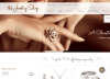 The Jewelry Shop- Home page with one of the 3 sliders supported by this theme