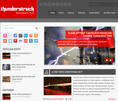 ThunderStruck Home pAGE