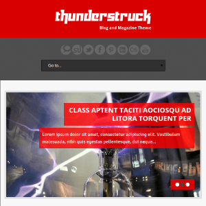 ThunderStruck WordPress Theme
