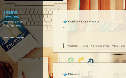 Waffle Theme Preview