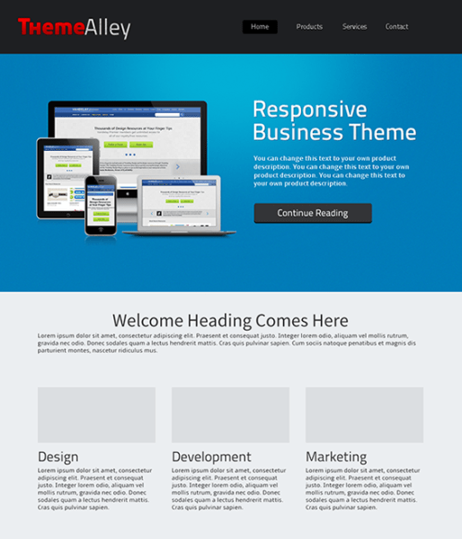 Alexandria-WordPress-Theme