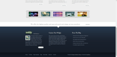 footer-Webly-WordPress-theme