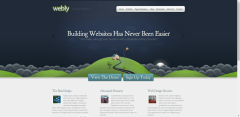 Front-page-Slider-Webly-WordPress-Theme