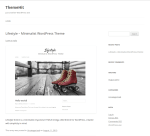 Lifestyle theme is a minimalist responsive HTML5 Omega child theme